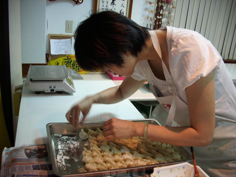 野生胭脂蝦水餃