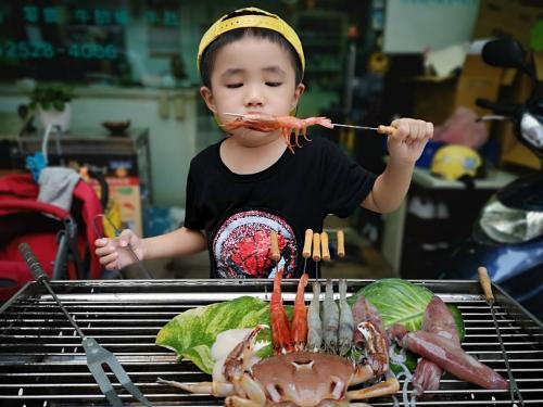胭脂蝦(生食級)Stout red shrimp